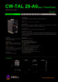 Icon of OSC 322 Water cooling system CW-TAL Size1 3ph 29 to A0 cooling power 2900 to 10900 W